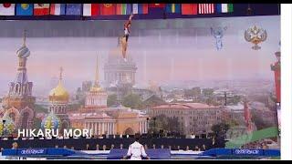 Worlds Best Trampoline Routines Hikaru Mori