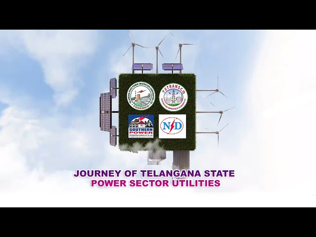 Journey of Telangana State Power Sector Utilities || Telangana