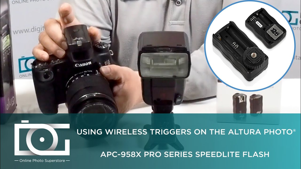 Tutorial Using Wireless Triggers With Apc 958x Speedlite Flash For