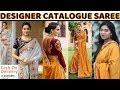 BUY NOW Designer Catalogue Saree ll Online Shop ll www.prititrendz.com