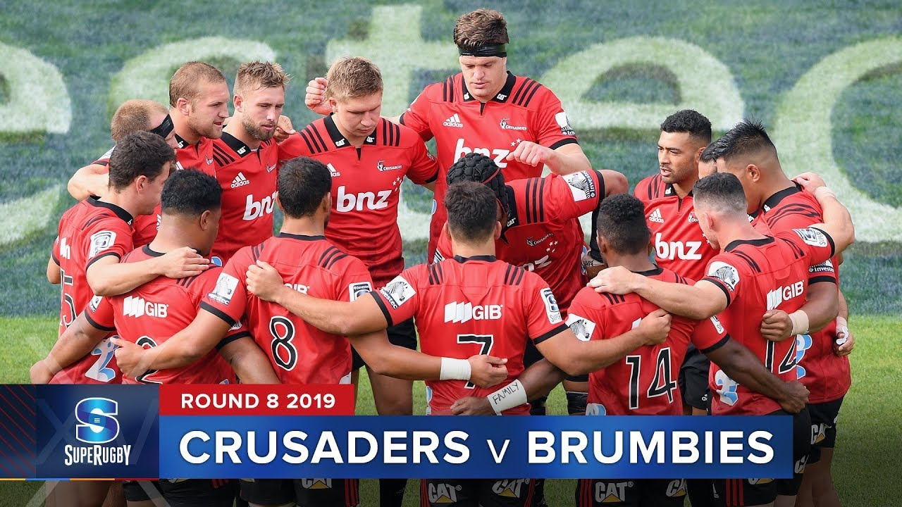 Crusaders v Brumbies | Super Rugby 2019 Rd 8 Highlights