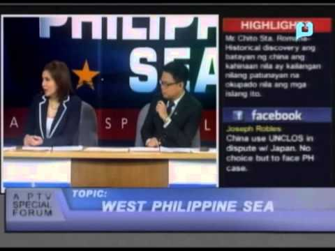 West Philippine Sea (Part 2) - A PTV Special Forum - [January 30, 2013]