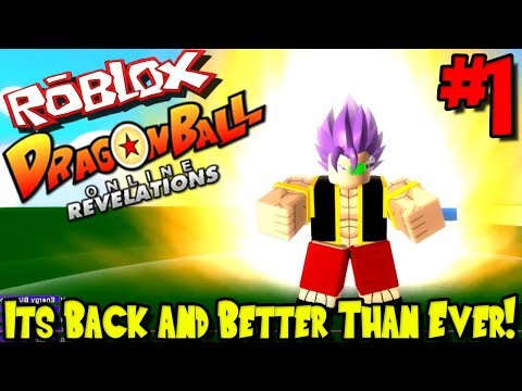 ITS BACK AND BETTER THAN EVER! | Roblox: Dragon Ball Online Revelations (Revamped) - Episode 1