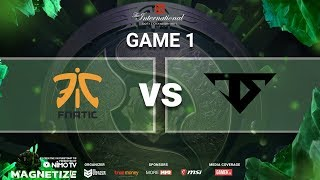 TI8 Mainstage | Fnatic vs Serenity | Caster: Mybone ft. 307