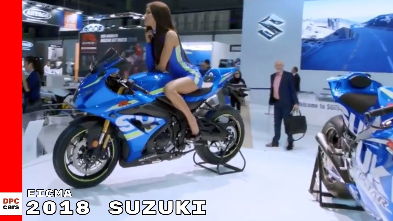2018 Suzuki Motorcycle & Scooter At EICMA 2017 - YouTube