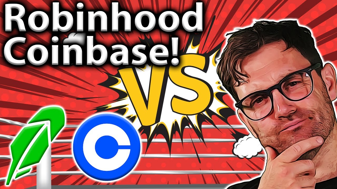 Robinhood Vs. Coinbase: BEST For Crypto? Know THIS!! 🤓