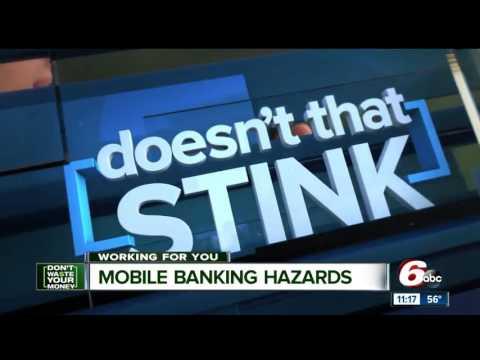 Mobile banking hazards