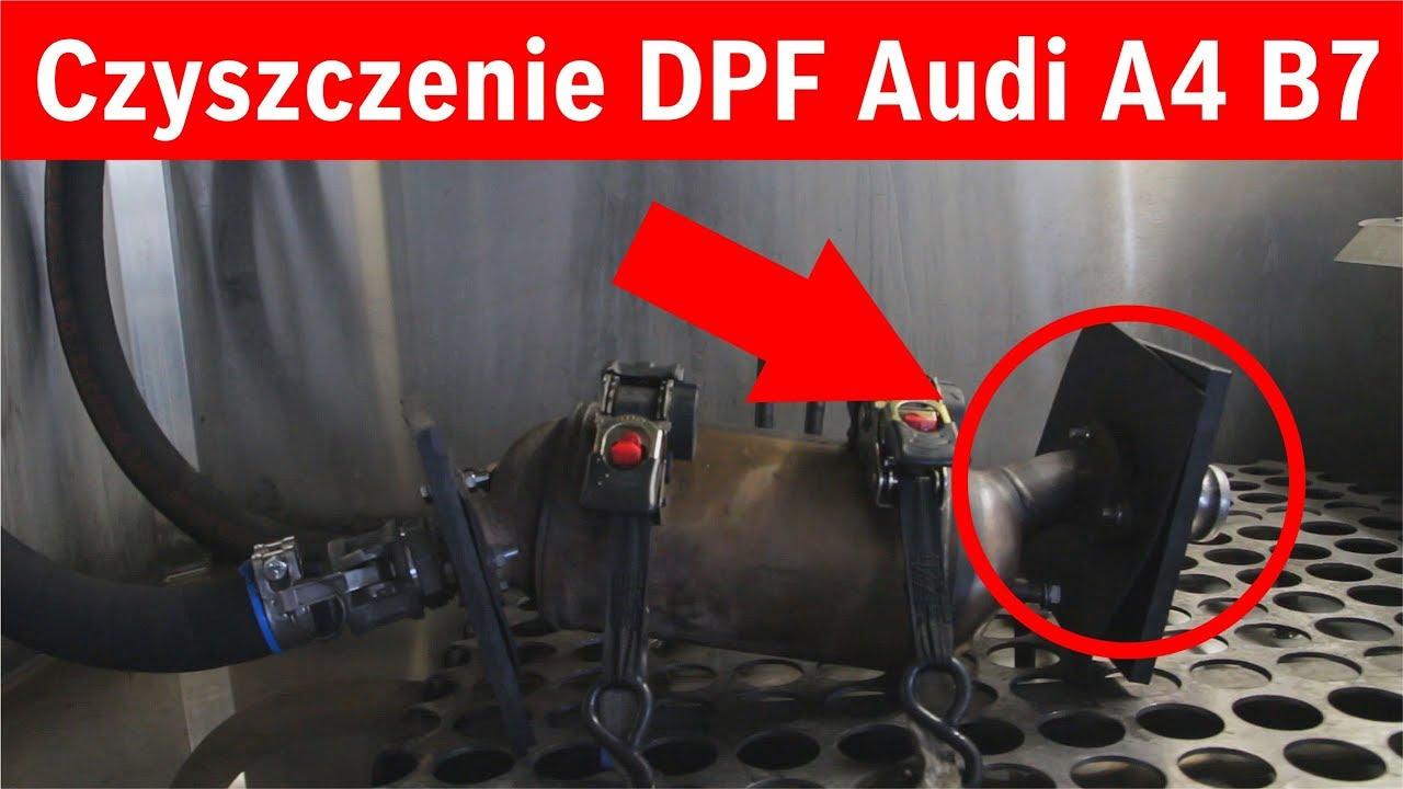 Czyszczenie Dpf Audi A4 B7 20d 140km 2005 Youtube