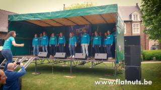 Royals - Flat Nuts a capella cover @ Aarschot Volkoren 2017 | Original song by Lorde