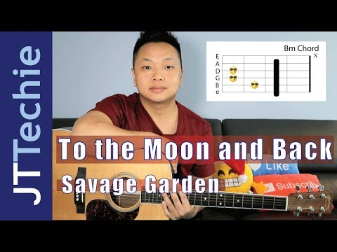 To The Moon and Back - Savage Garden Guitar Tutorial : guitarteachers
