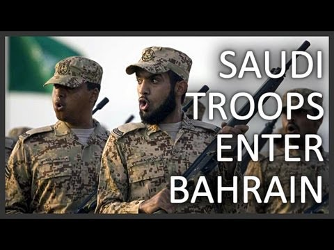 Saudi military intervention in Bahrain