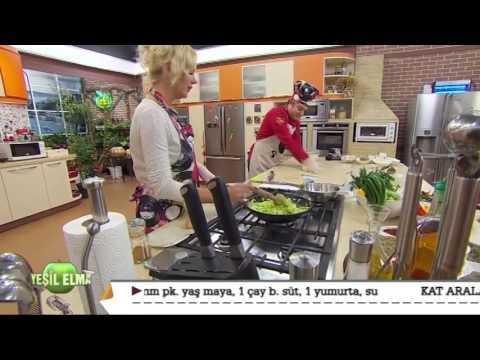 Oktay Usta-Yeşil Elma Pırasalı Kıymalı Çıtır Börek Tarifi