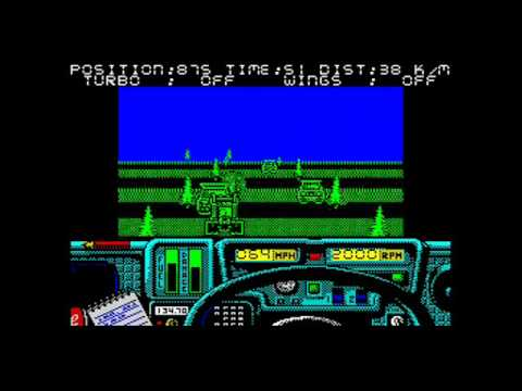 Paris to Dakar ZX Spectrum