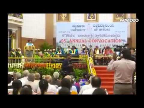 University of Mysore Centenary Celebrations Song