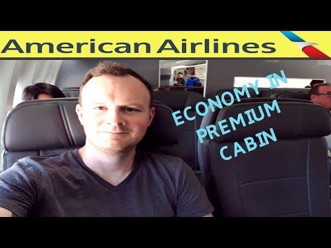 American Airlines Economy In Premium Economy|LHR-LAX|Boeing 777