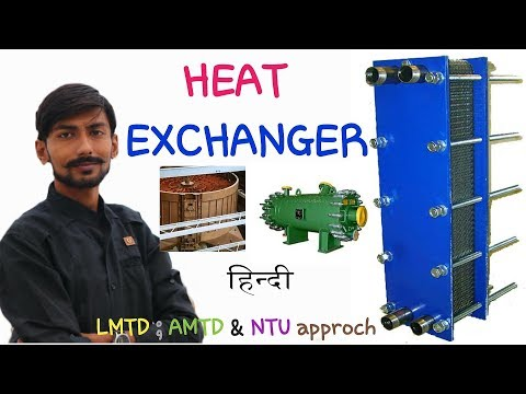 [HINDI] HEAT EXCHANGER ~ PARALLEL FLOW, COUNTER FLOW, DIRECT CONTACT, REGENERATIVE TYPE  & MORE ☑️