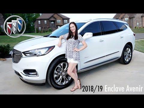 2018/2019 Buick Enclave Avenir | REVIEW • Car Seats Installed • Test Drive