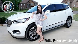 2018/2019 Buick Enclave Avenir | REVIEW • Car Seats Installed • Test Drive