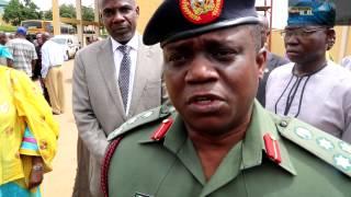 VIDEO: #BokoHarram: We Cant Risk Posting Corp Members - Brig-Gen Johnson B.Olawumi DG NYSC