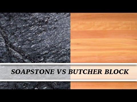 Soapstone vs Butcher Block | Countertop Comparison