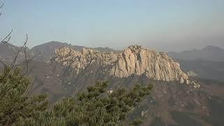 2019-11-12 09:30 설악산 권금성에서 CCT…
