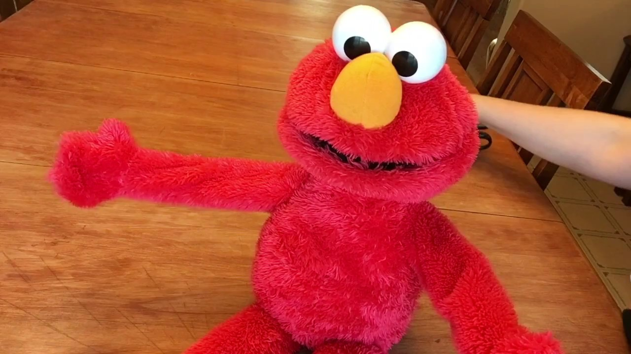 Big Hugs Elmo Without Fur Youtube