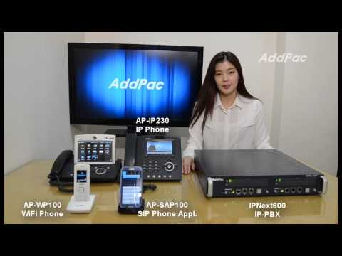 IPNext600 PTT(Push to Talk) IP-PBX Service Demonstration | AddPac