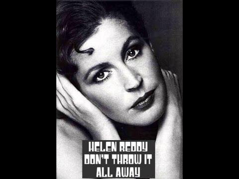 Helen Reddy - Don't Throw It All Away - When I Dream - Stacy Lattisaw