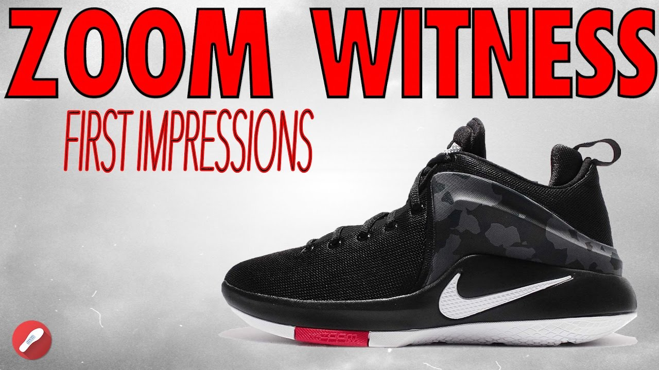 Nike Lebron Zoom Witness First Impressions! - YouTube eb07dfb73168