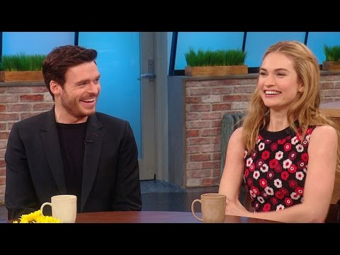 The Stars of 'Cinderella' Play the Newlywed Game