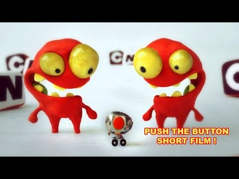 3D Animated Short Film - PUSH THE BUTTON - Cartoon Network ID - Animation by Mindbender