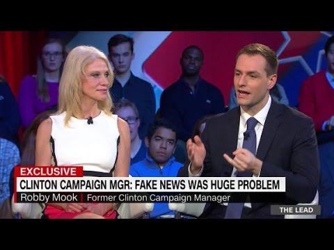 Trump and Clinton aids discuss fake news