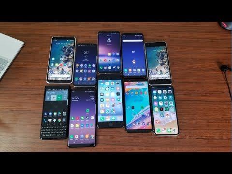 My Top 5 Favorite Phones of 2017 - LIVE!