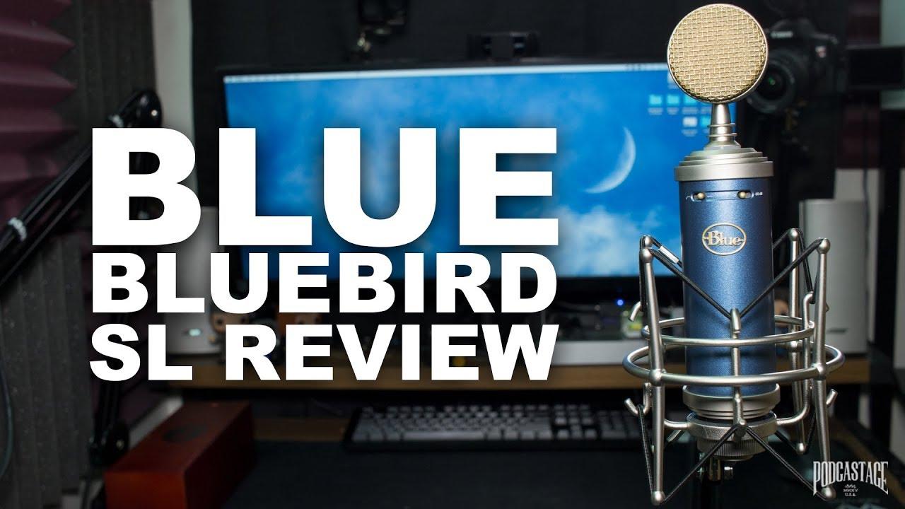 Blue Bluebird SL Condenser Mic Review / Test