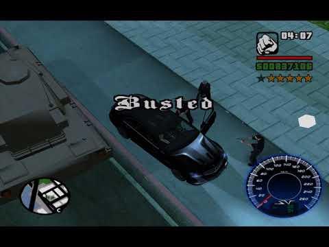 GTA SA Busted 1