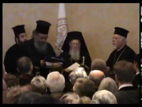 Der Ökumenische Patriarch Bartholomaios besucht Bonn