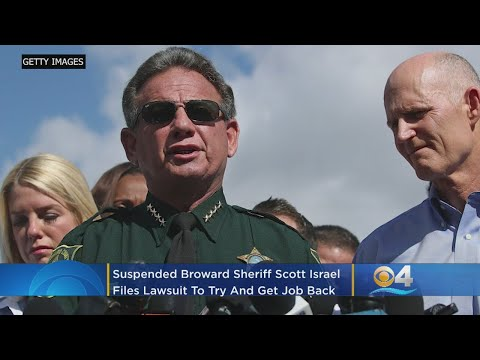 Suspended Broward Sheriff Scott Israel Sues Florida Governor Ron DeSantis To Get Job Back – Local News Alerts