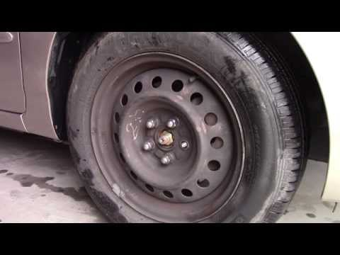 How to Replace Broken Lug Nut Studs - Wheel bolt repair Toyota Corolla fix