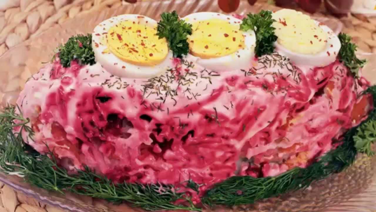 лучшие салаты рецепты на новый год с фото