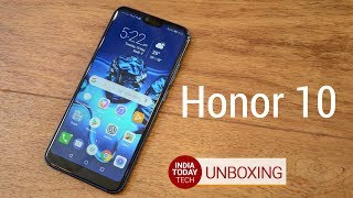 Honor 10 unboxing: Specs, features, camera and price