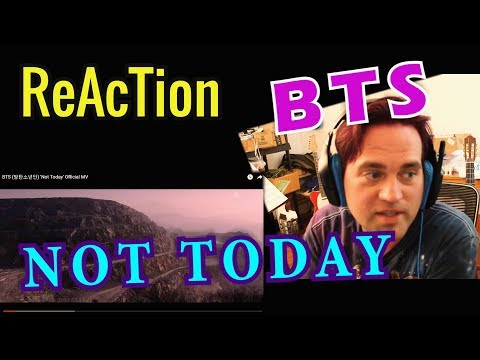 Ellis Reacts #281 // Reaction to BTS - Not Today Official MV //  () // Guitarist Reacts