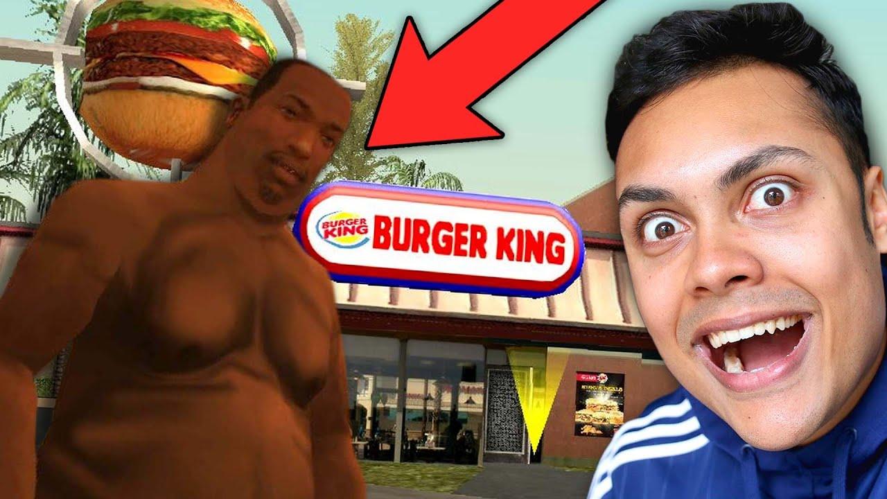 Eating Food Until CJ Gets FAT In GTA San Andreas