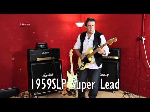 Marshall Amp Comparison  SLP1959 V JCM800 By The Clan's Craig McDonald July 2012