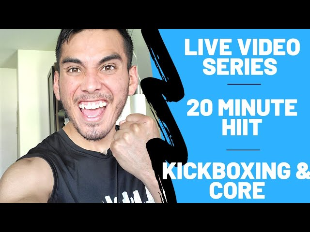 Kick Boxing & Core Home HIIT Workout | NO EQUIPMENT NEEDED