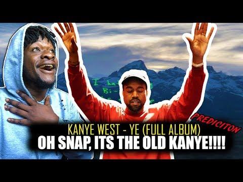 Kanye West - Ye (Full Album) REACTION!