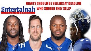 New York Giants- NFL Trade Deadline a week from today! They need to sell! Who should they trade?