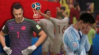 UN GRANDE SE VA DEL MUNDIAL - SEGUNDA FECHA RUSIA 2018 - FIFA 18