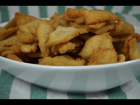 Onion Chips / Zwiebel Chips - ghanaischer Art