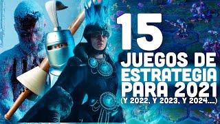 15 MEJORES JUEGOS de ESTRATEGIA que vendrán en 2021, 2022 y más: Los mejores videojuegos del futuro