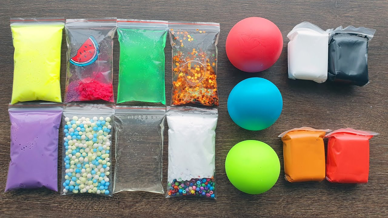 Making Slime with Bags and Balls